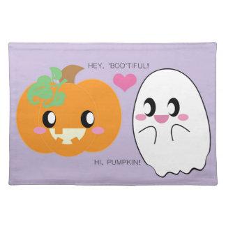 BOOtiful Pumpkin Love Placemat