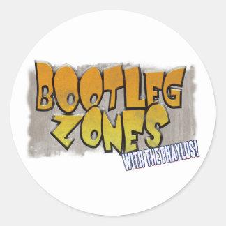 Bootleg Zones Sticker