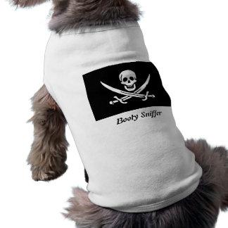 Booty Sniffer Dog Tshirt
