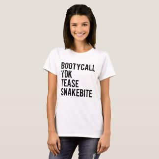 Bootycall YDK Tease Snakebite T-Shirt
