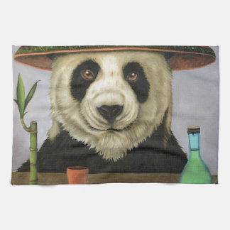 Boozer 4 with Panda Kitchen Towel