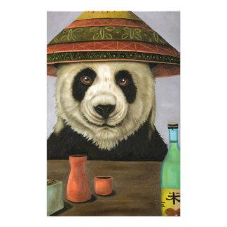 Boozer 4 with Panda Stationery