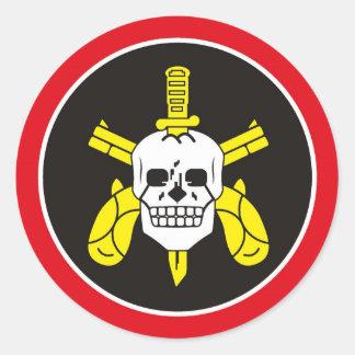 BOPE Tropa De Elite Brazilian Special Police Force Classic Round Sticker