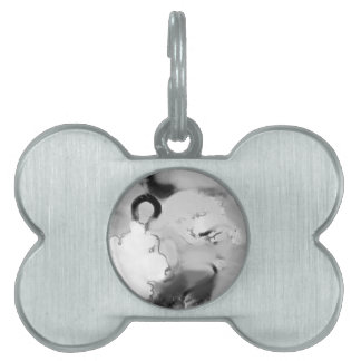 bopeepsheepb&w pet name tag