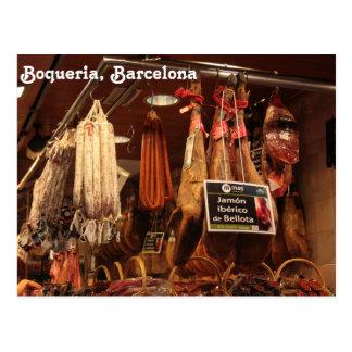 Boqueria-Butcher Postcard