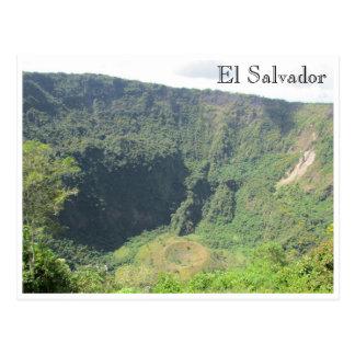 boquerón crater postcard