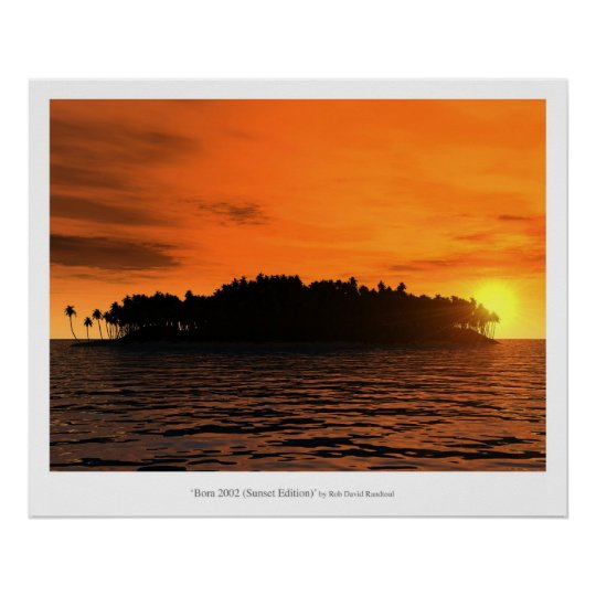 Bora 2002 (Sunset Edition) Poster