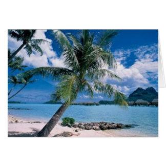 Bora Bora Card