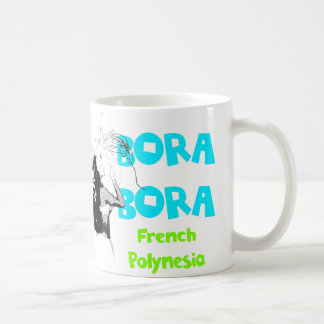 Bora Bora Female Dancer Mug