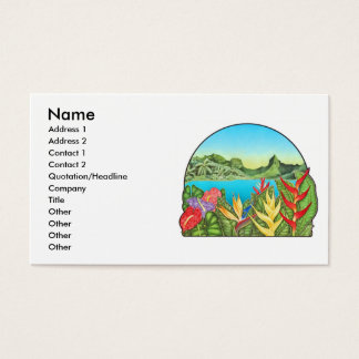 Bora Bora, French Polynesia Business Card