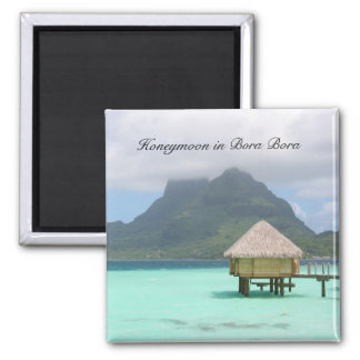 Bora Bora Honeymoon Magnet