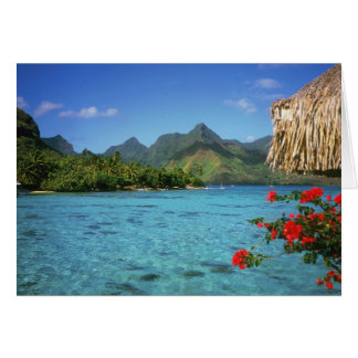 Bora Bora Island, French Polynesia Card