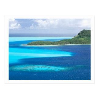 Bora Bora Lagoon, French Polynesia Postcard
