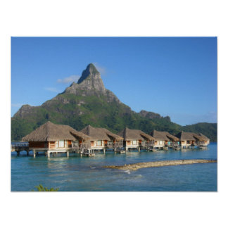 Bora Bora * Paradise Paradise Poster