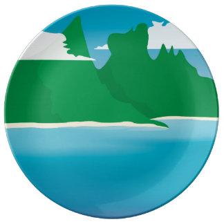 Bora Bora Plate