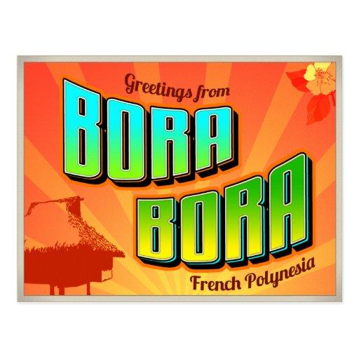 BORA BORA POSTCARDS