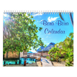 Bora Bora Wall Calendars