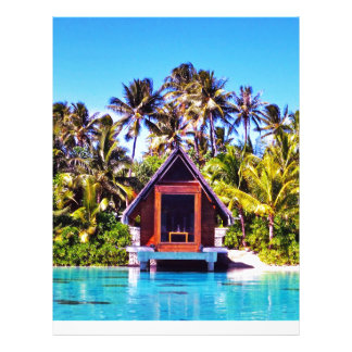 Bora Bora Wedding Chapel Letterhead Design