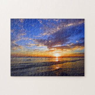 boracay beach sunset jigsaw puzzle