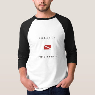 Boracay Philippines Scuba Dive Flag T-Shirt