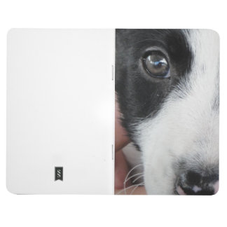Borber Collie Puppy Pocket Journal