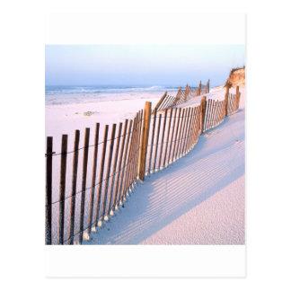 Bord de la mer d'île de Santa Rosa de plage Cartes Postales