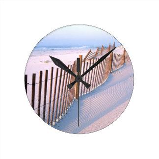 Bord de la mer d'île de Santa Rosa de plage Horloge Ronde