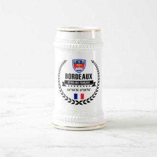 Bordeaux Beer Stein