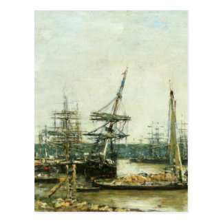 Bordeaux by Eugene Boudin Postcard