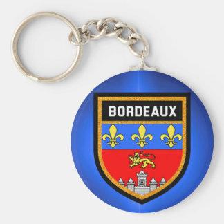 Bordeaux Flag Keychain