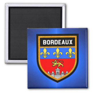 Bordeaux Flag Magnet