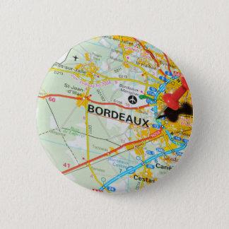 Bordeaux, France 2 Inch Round Button