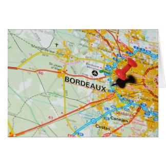 Bordeaux, France Card