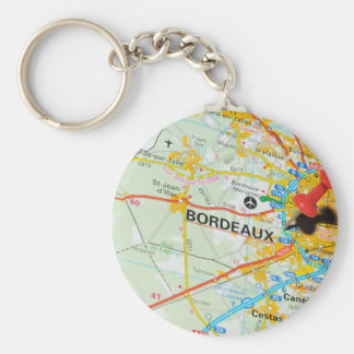 Bordeaux, France Keychain