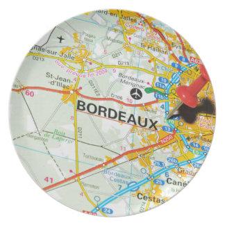 Bordeaux, France Plate