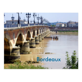 Bordeaux, France Postcard