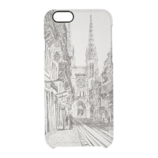 Bordeaux France. Twin spire.2010 Clear iPhone 6/6S Case
