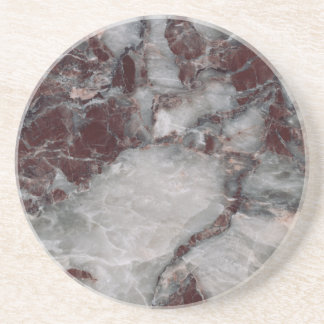 Bordeaux Grisso Decorative Stone - Rugged Beauty Coaster