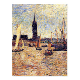 Bordeaux Harbour by Paul Gauguin Postcard