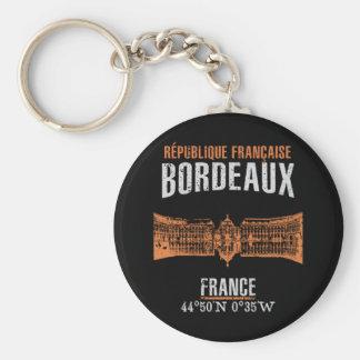 Bordeaux Keychain