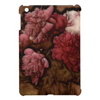 Bordeaux Peony Flower Bouquet iPad Mini Case