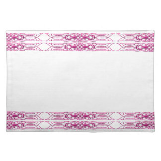 Border 1 pink placemat