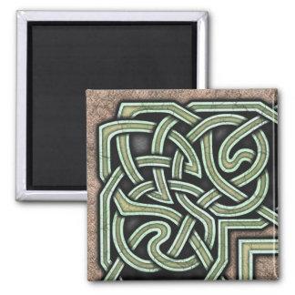 Border B, Green Corner Magnet