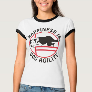 Border Collie Agility Happiness T-Shirt