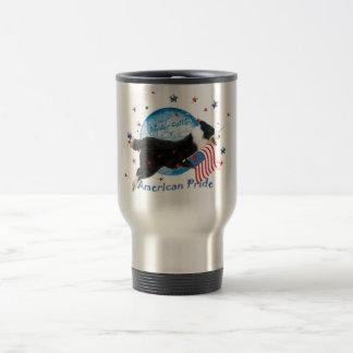 Border Collie American Pride Travel Mug