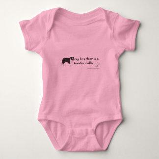 border collie baby bodysuit