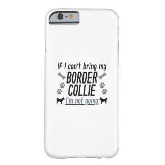 Border Collie Barely There iPhone 6 Case