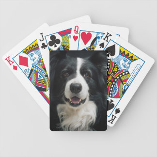 border-collie bicycle playing cards