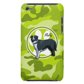 Border collie camo vert clair camouflage coque iPod touch Case-Mate