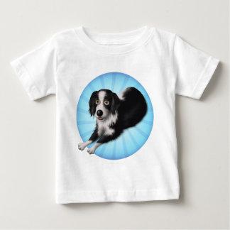 Border Collie Cartoon BC1 Baby T-Shirt